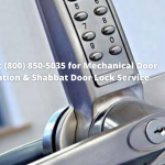 Mechanical Door Lock Installation