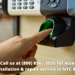 access control installation & repair service in NYC & Long Island